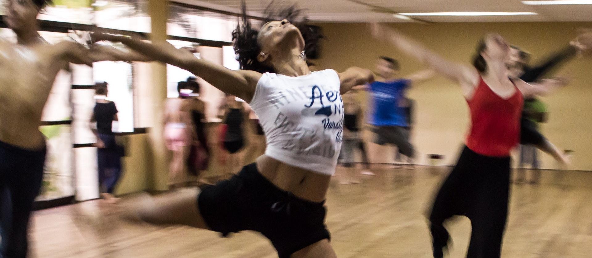 dance at studio